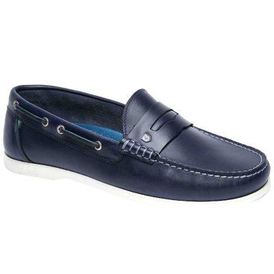 Dubarry Spinnaker Loafer Deck Shoes - Men's Navy