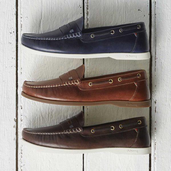 Dubarry Spinnaker Loafer Deck Shoes - Men's - 3 Colour Options