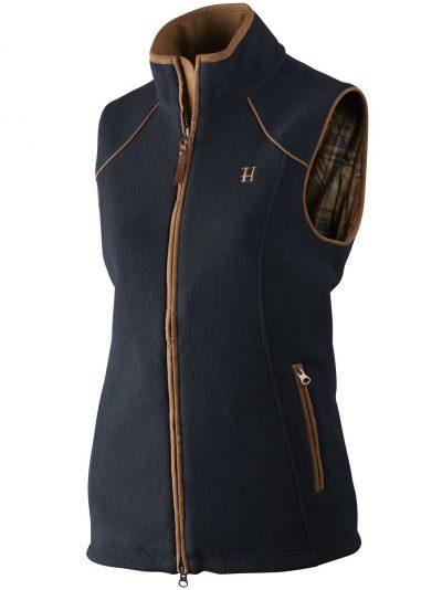 HARKILA Gilet – Ladies Sandhem Fleece Polartech – Dark Navy
