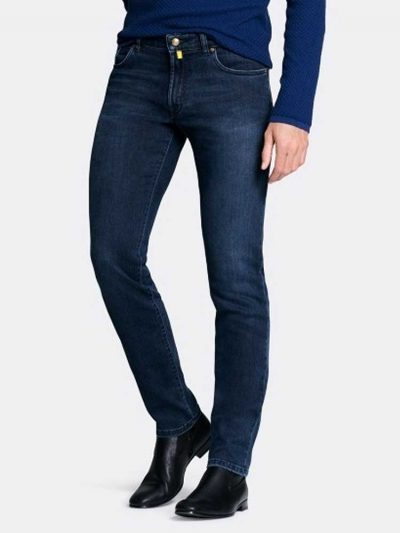 MMX Jeans - Men's Phoenix 7142 Super Stretch Denim - Blue-Blue