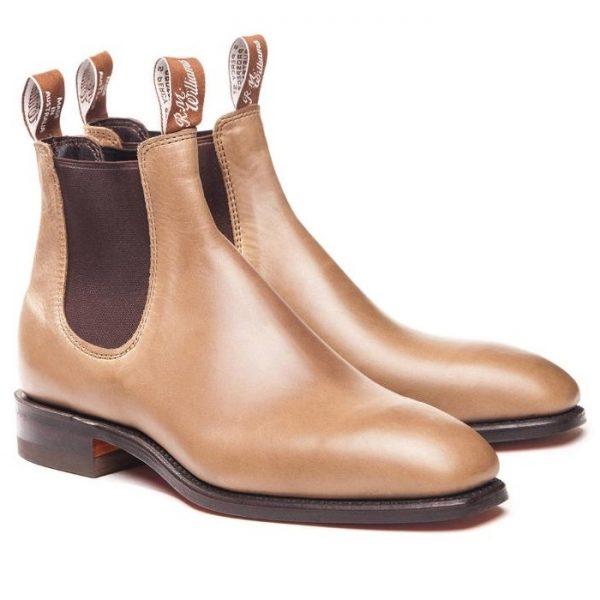 RM Williams Men's Comfort Craftsman Boots - Nutmeg