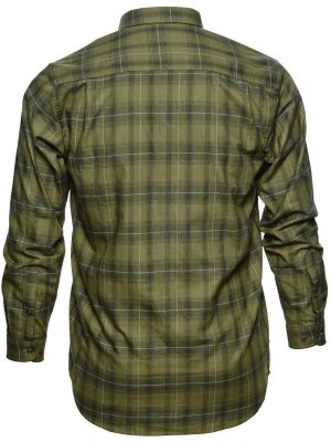 SEELAND Shirts - Mens Helt Cotton - Rosin Check