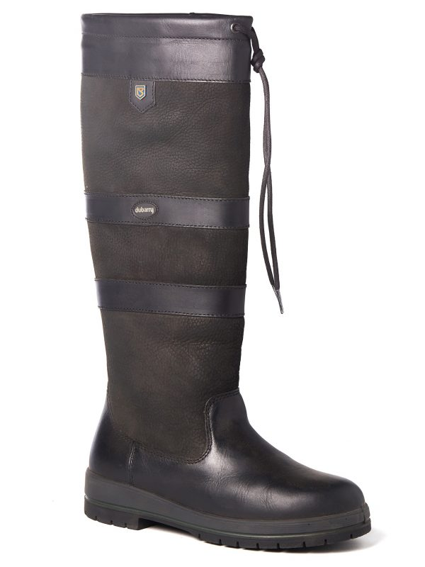 DUBARRY Galway Boots - Ladies Waterproof Gore-Tex Leather - Black