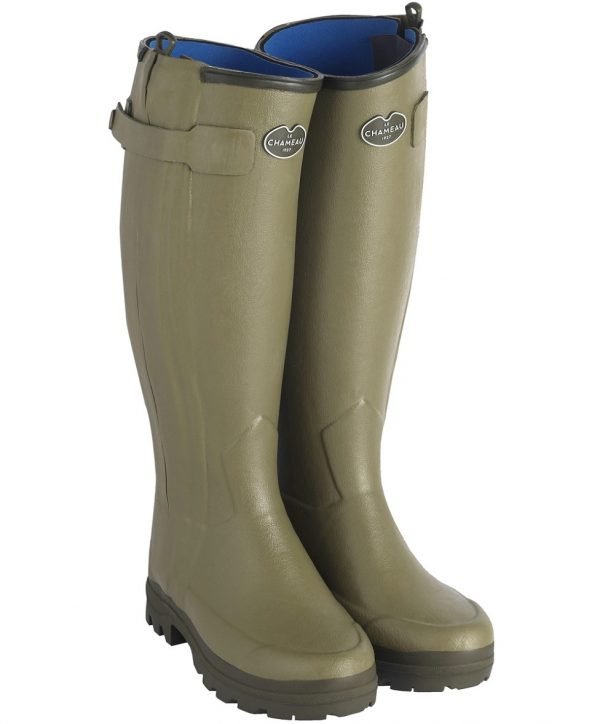 Le Chameau – Ladies Chasseurnord Neoprene Lined Boots – Vert Vierzon
