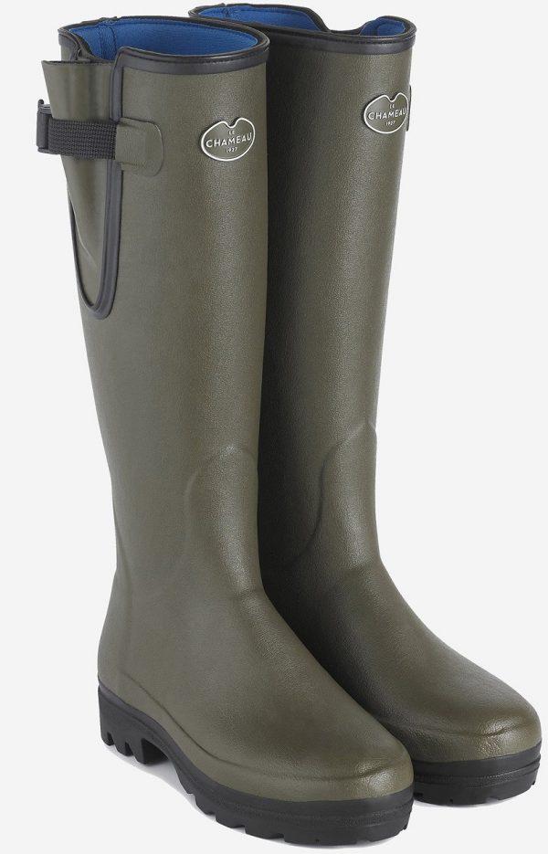 Le Chameau - Ladies Vierzonord Wellington Boots - Vert Chameau