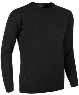 Glenmuir Ladies Esther Crew Neck Lambswool Sweater - Black
