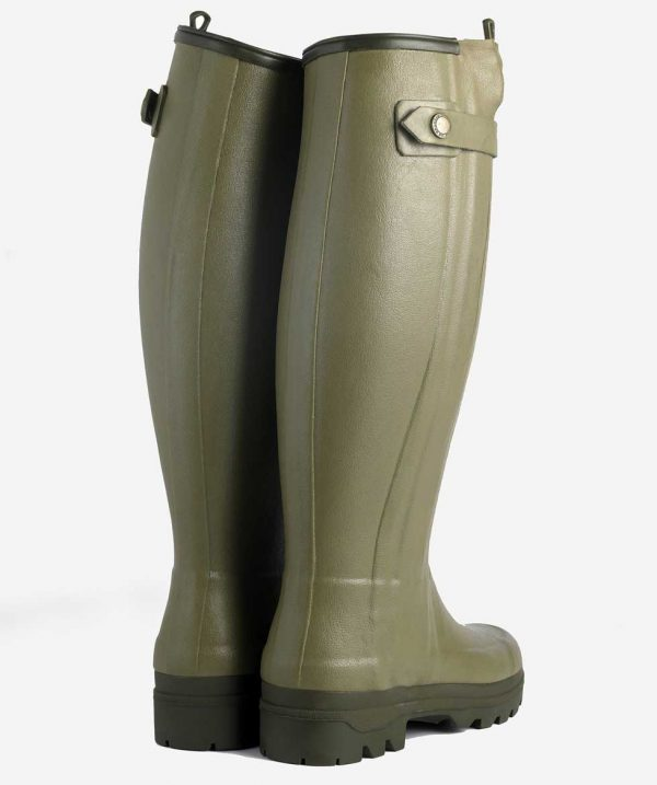 Le Chameau - Ladies Chasseurnord Neoprene Lined Boots - Vert Vierzon