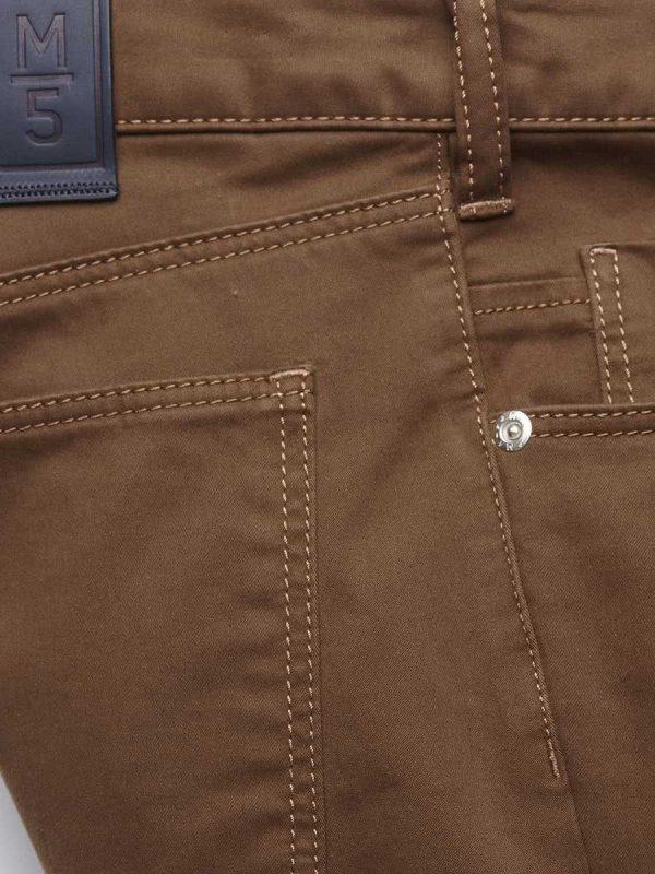 Meyer M5 Jeans - 6106 Pima Cotton Five Pocket - Slim Fit - Camel