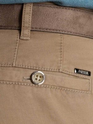 Meyer - Roma 316 Luxury Soft Cotton Chinos - Beige
