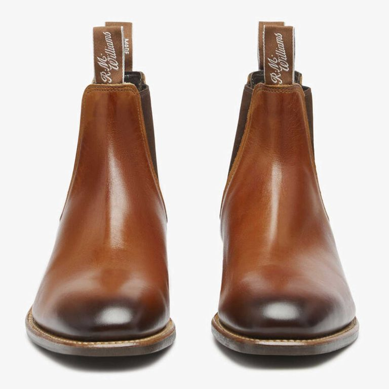 RM WILLIAMS Boots - Men's Chinchilla - Cognac