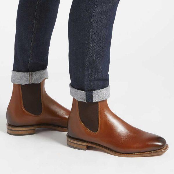 RM WILLIAMS Boots - Men's Chinchilla - Cognac