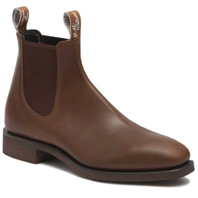 RM WILLIAMS Boots - Men's Lachlan - Water-Resistant Brown Vesta