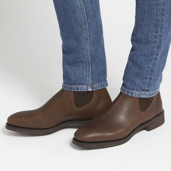 RM WILLIAMS Boots - Men's Lachlan - Water-Resistant Brown Vesta