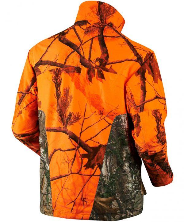 Seeland Men's Excur Jacket - 70% Realtree® Orange Blaze