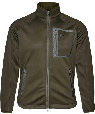 Seeland Men's Hawker Storm Fleece Jacket - Pine Green