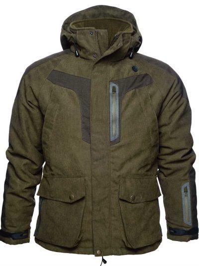 SEELAND Jacket - Mens Helt - Olive / Grizzly Brown