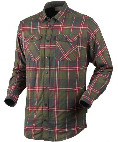 Seeland Men's Nolan Checked Shirt - Pine Check