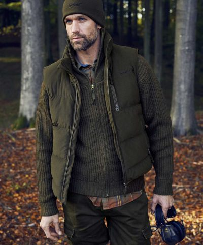 Seeland Men's Yukon Padded Waistcoat