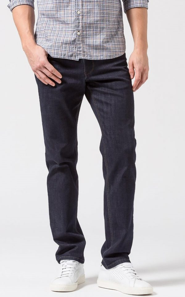 Brax Cooper Jeans - Mens Masterpiece Denim Regular Fit - Dark Blue