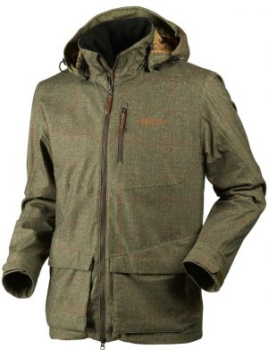 HARKILA Jacket - Mens Stornoway Active - Cottage Green Tweed