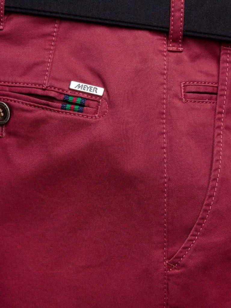 Meyer - Roma 3001 Lightweight Soft Cotton Chinos - Red