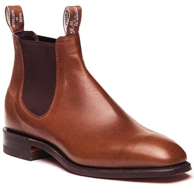 RM WILLIAMS Boots - Men's Kangaroo Comfort Craftsman - Tanbark