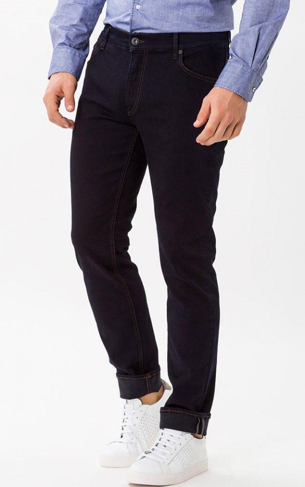 Brax Chuck Jeans - Mens Denim Hi-Flex Stretch Slim Fit - Perma Indigo