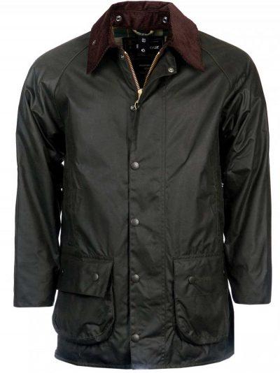 BARBOUR Wax Jacket - Mens Beaufort - Sage