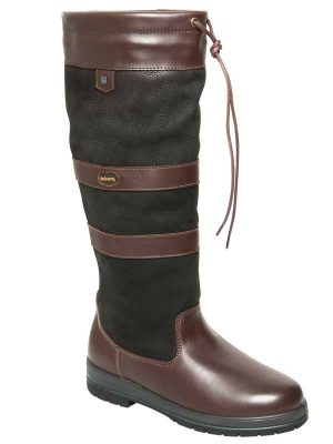 Dubarry Galway ExtraFit™ Boots - Gore-Tex Leather - Black & Brown