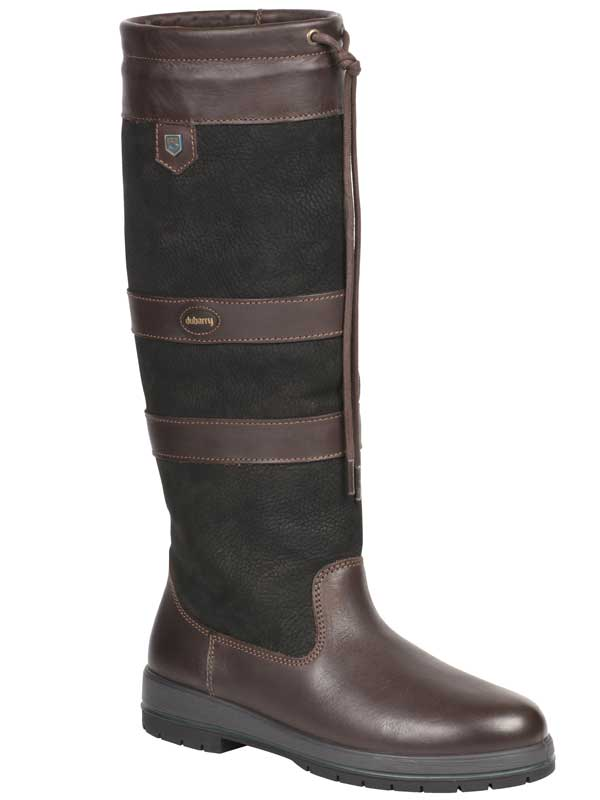 Dubarry Galway SlimFit™ Boots - Gore-Tex Leather - Black & Brown