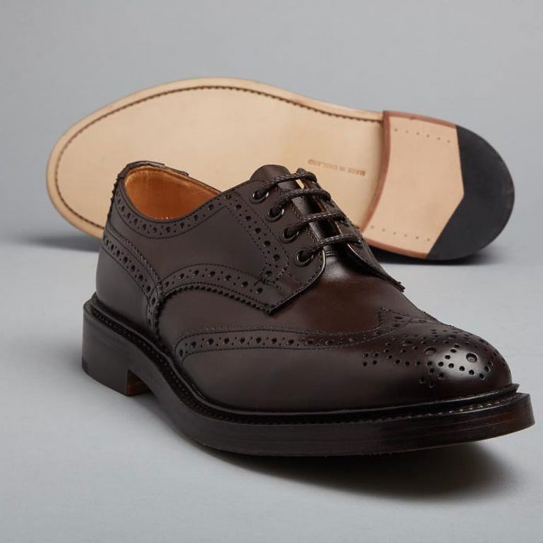 Tricker's Bourton Country Brogues - Espresso Burnished