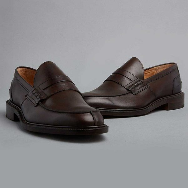 Tricker's James Penny Loafers - Espresso Burnished