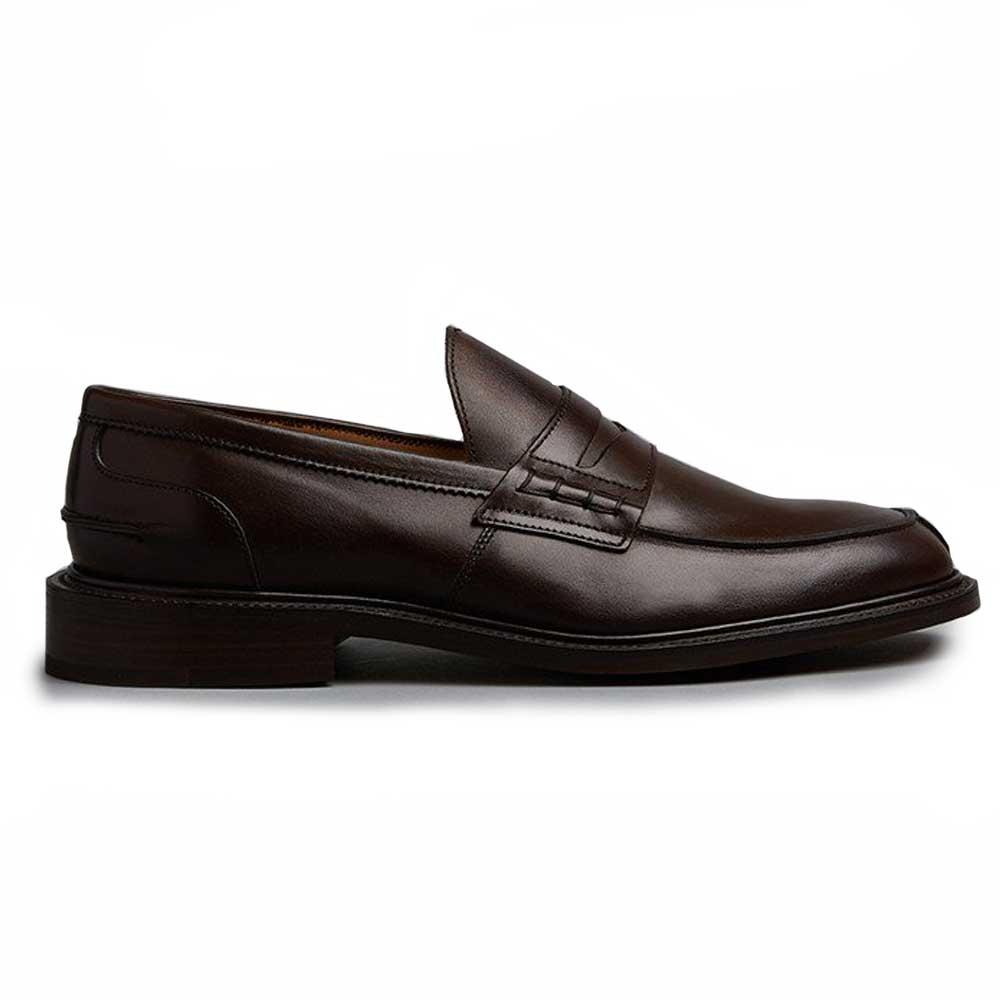 ff9fb6e61fe1 TRICKER'S Shoes - Mens James Penny Loafers - Espresso