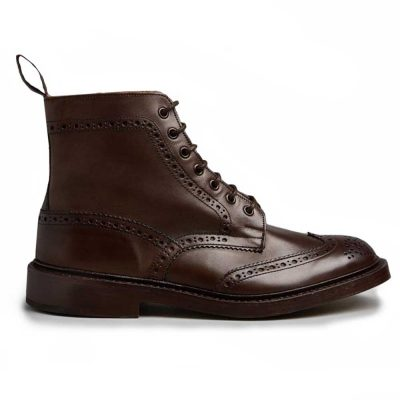 Tricker's Stow Country Boots Espresso Burnished