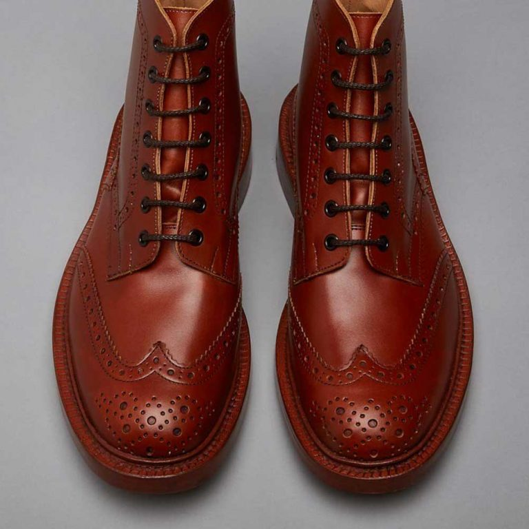 Tricker's Stow Country Boots - Marron Antique