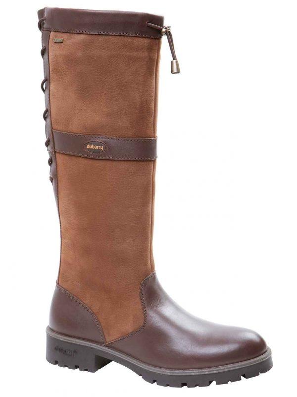 DUBARRY Glanmire Boots - Ladies Waterproof Gore-Tex Leather - Walnut