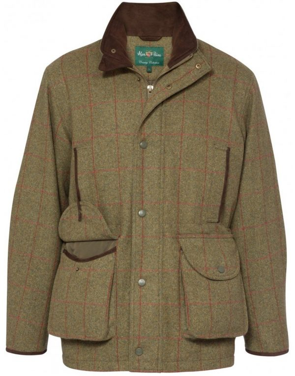 Alan Paine Combrook Men's Shooting Coat - Sage
