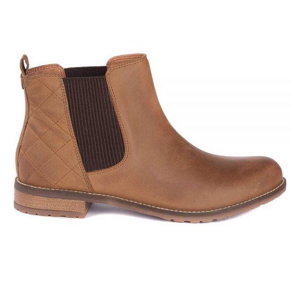 Barbour Ladies Abigail Chelsea Boots - Cognac