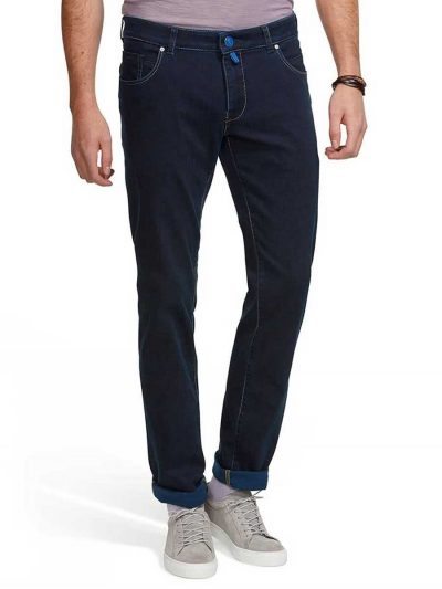Meyer M5 Jeans - Stretch Denim 6206 - Slim Fit - Navy Blue
