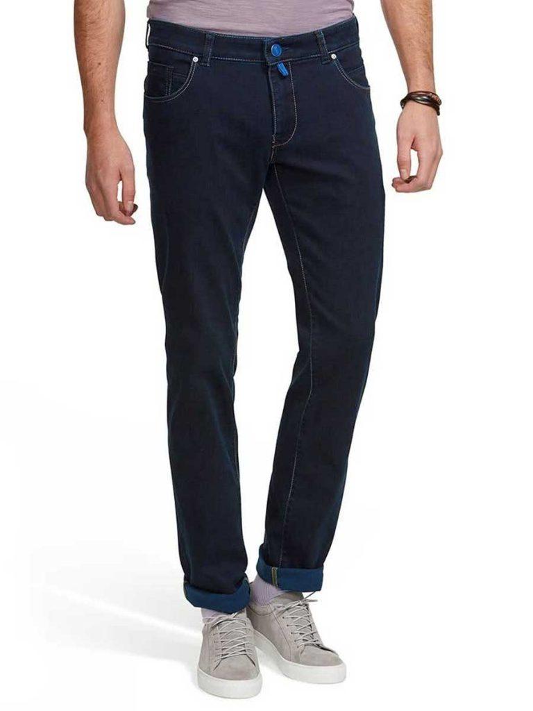 Meyer M5 Jeans - Stretch Denim 6206 - Slim Fit - Navy Blue