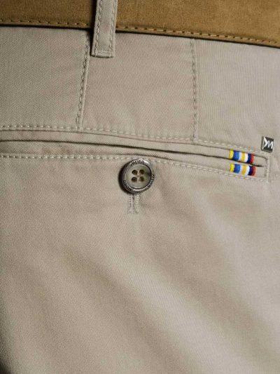 Meyer Roma 3001 Lightweight Soft Cotton Chinos - Beige