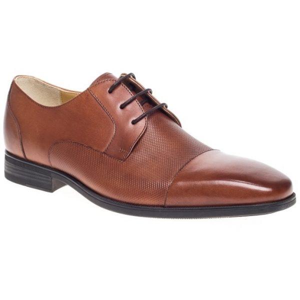 Steptronic Shoes - Hitchin - Cognac