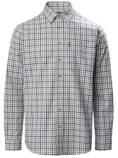 MUSTO Shooting Shirt - Mens Classic Twill - Carrick Navy