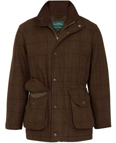 Alan Paine Combrook Men's Tweed Field Coat - Woodland