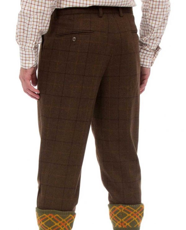 Alan Paine Combrook Mens Tweed Breeks - Woodland