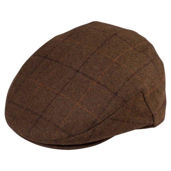 Alan Paine Combrook Mens Tweed Cap - Woodland