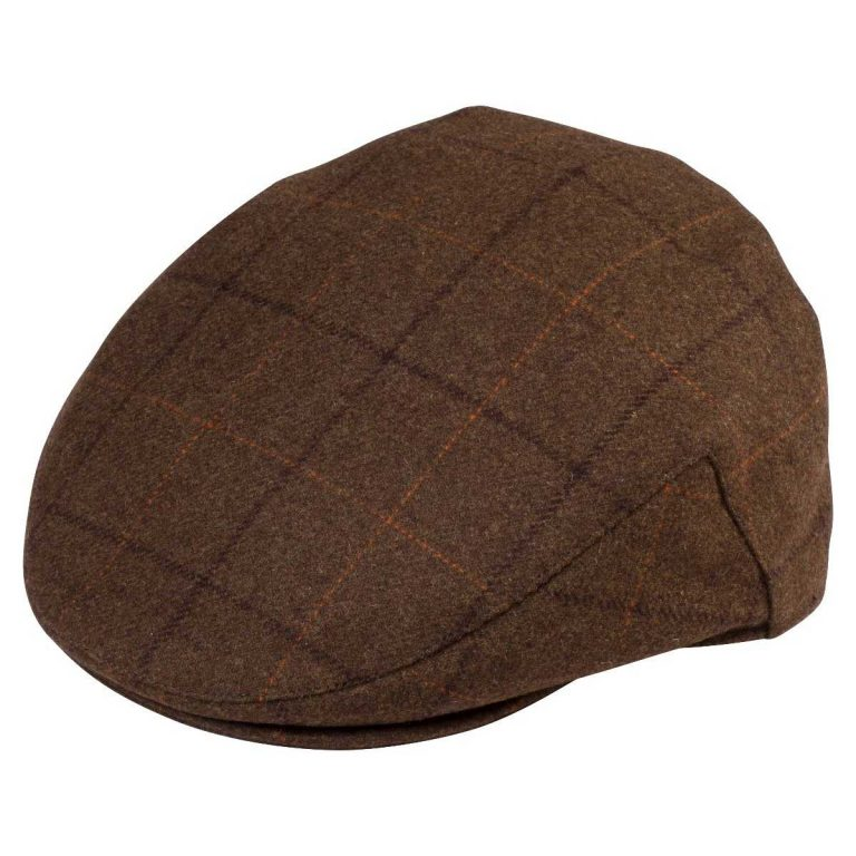 Alan Paine Combrook Mens Tweed Cap - Woodland