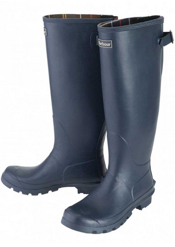 Barbour Jarrow Ladies Wellington Boots - Navy