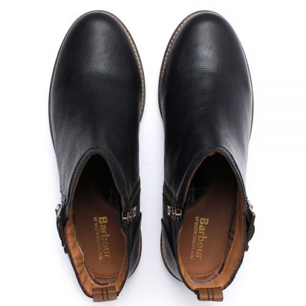 Barbour Ladies Sarah Low Buckle Boots - Black