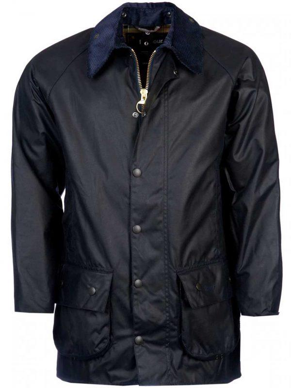 BARBOUR Wax Jacket – Mens Beaufort - Navy